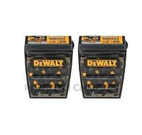 Dewalt DT70527T X 2 Extreme Impact Torsion PZ2 Pozi 2 Screw Driver 25mm Bit X 25
