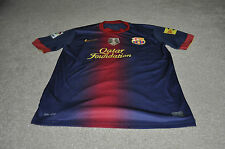 FC BARCELONA FOOTBALL SHIRT YOUTH SIZE 13-15