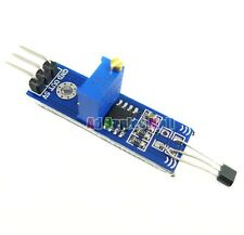 DC 5V 3144 Hall Sensor Magnetic Switches Speed Counting Sensor Module