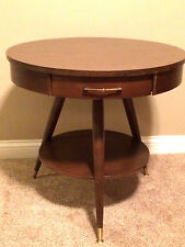 Vintage Mersman Retro Mid Century Modern Cherry Accent Stand Side/End Table