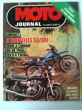 N°458 MOTO JOURNAL Kawa KX 400 Enduro/ 125 X 4 Twin