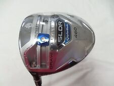 New LH Taylormade SLDR 460 12* Driver Regular flex fujikura speeder 57 Slider