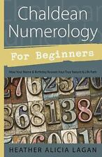 Chaldean Numerology for Beginners Book ~ Wiccan Pagan Witchcraft Supply