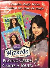 Wizards of Waverly Place Deck Playing Cards Poker Size USPCC Custom Limited New