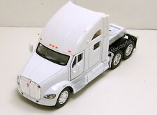 Kinsmart Kenworth T700 tractor Truck Cab 1:68 scale diecast model White K205