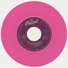 "Beatles Pink Vinyl 7"" ""Twist And Shout"" Capitol Cema 17699, Near Mint"