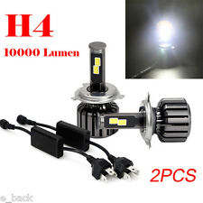 2PCS H4 9003 HB2 120W 10000LM CREE LED Headlight Kit Hi/Lo Beam Bulbs 6000K Hot