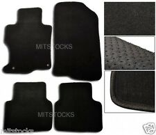 FIT FOR 2008-2012 HONDA ACCORD BLACK NYLON CARPET FLOOR MATS