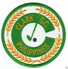 CLARK AIR BASE GOLF CLUB PATCH, GONE BUT NOT FORGOTTEN                         Y