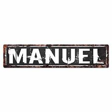 SFND0110 MANUEL MAN CAVE Street Chic Sign Home man cave Decor Gift