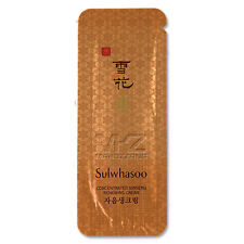 Sulwhasoo Concentrated Ginseng Renewing Cream EX 30pcs Amore Pacific + Free Gift