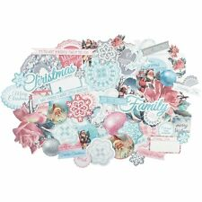 Kaisercraft Silver Bells Christmas Collectables Ephemera Die-Cut Embellishments