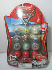 SQUINKIES DISNEY PIXAR CARS 2 SERIES 2 12PCS 1 LOT FIGRE M113!!