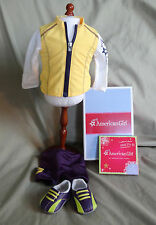 AMERICAN GIRL RETIRED CYCLING OUTFIT - NEW IN BOX - COMPLETE - FREE SHIPPING