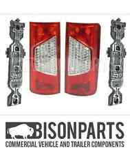 FORD TRANSIT CONNECT 09-13 REAR TAIL LAMP & BULB HOLDER BOTH SIDES - TRA505