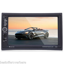 7020G 7 inch Car Audio Stereo MP5 Player Rearview Camera GPS NORTH AMERICAN MAP