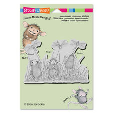 HOUSE MOUSE RUBBER STAMPS CLING DRAGONFLY KITES NEW cling STAMP