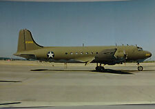 ML1 Douglas C-54 Skymaster United States Air Force Postcard