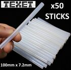 50X 7mm ADHESIVE GLUE STICKS FOR TRIGGER ELECTRIC HOT MELT GUN HOBBY CRAFT MINI