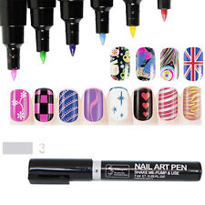 Multi-Color Drawing for UV Gel Polish Manicure Nail Art Pen Painting Design Tool