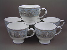 WEDGWOOD CORINTH TEA CUP, 1st, NEW, X 6.