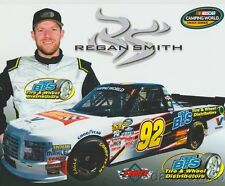 2017 Regan Smith BTS Tire & Wheel Ford F-150 NASCAR CWTS postcard