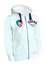 GIRLS 6 7 Years LEICESTER TIGERS Hooded Top Rugby Tracksuit Hoodie Kids Jacket