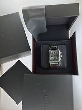 MICHELE DECO DIAMOND DIAMOND MOP DIAL LADIES WATCH WITH BOX & PAPERS...