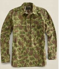 RALPH LAUREN RRL LIMITED EDITION PULLOVER WORKSHIRT CAMO DOUBLE RL SZ LARGE