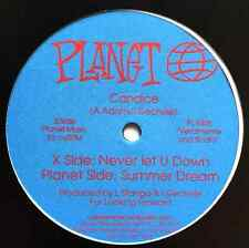 "CANDICE - Never Let You Down/ Summer Dream (12"") (Promo) (NM/EX)"