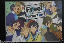 JAPAN Free! TV animation Model Sheets + Creator's Message Book