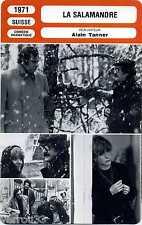 Fiche Monsieur Cinéma. La salamandre. Suisse 1971 Alain Tanner