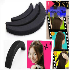 3Pcs Different Sizes Hair Heighten Tools Fluffy Crescent Clip Bangs Paste Root