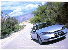 Ford Cougar 1998-99 UK Market Launch Mailer Sales Brochure 2.0 16v 2.5 V6 24v