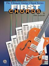 The Ultimate Guitar Chord Series First Chords (The Ultimate Guitar Chord Book Se