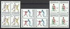 Russia 1992 Sc# 6084-86 set Summer Olympic games blocks 4 MNH