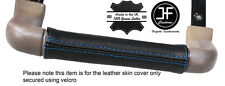 BLUE STITCH DASH GRAB HANDLE LEATHER COVER FITS LAND ROVER DISCOVERY 1 89-93