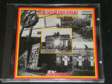 PETER GOTTHARDT Wir sind das Volk / post DDR CD 1990 CAPRICCIO 10365