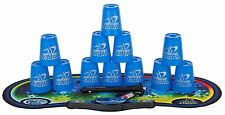 Speed Stacks Cups Competitor Sport Stacking Set  Mat and Pro Timer Blue 12 Cups