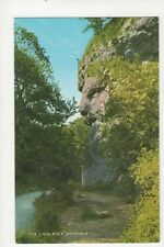 The Lion Rock Dovedale Old Postcard 379a