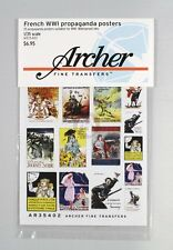 Archer 1/35 French Propaganda Posters WWI (25 posters) [Printed Paper] AR35402