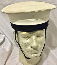 Royal Navy Class II Sailor's Hat With Chin Strap, no Ship's Talley size 6 3/4 #5