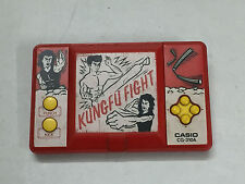 CASIO CG-310 A KUNG FU FIGHT LCD HANDHELD ELECTRONIC VIDEO GAME 1990