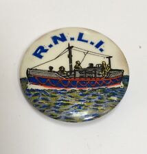 Old Vintage RNLI Lifeboat Badge - British Charity