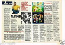 Coupure de presse Clipping 1989 (2 pages) Dorothée
