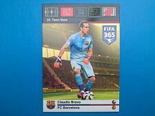 Panini Adrenalyn XL Fifa 365 Card n. 30 Team Mate Bravo Barcelona