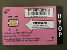 NET10 NANO SIM CARD FOR THE IPHONE 5 5S 6 6+ UNLIMITED T-MOBILE NETWORK TOWERS