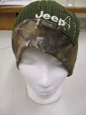 New Jeep Reversible Camo Adult Beanie One Size Fits Most by Realtree
