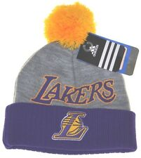 NBA Los Angeles Lakers Kid Beanie Pom Pom-toddler 2~4