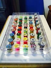 Get Organised 40 Spool Thread Bobbin holders Fly Tying Materials